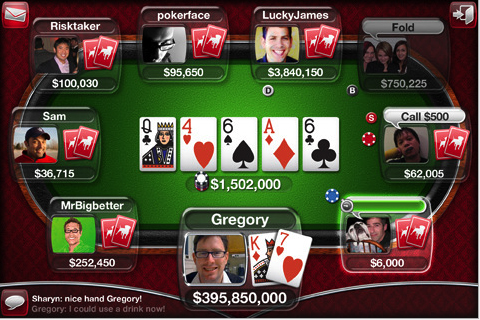 play poker game